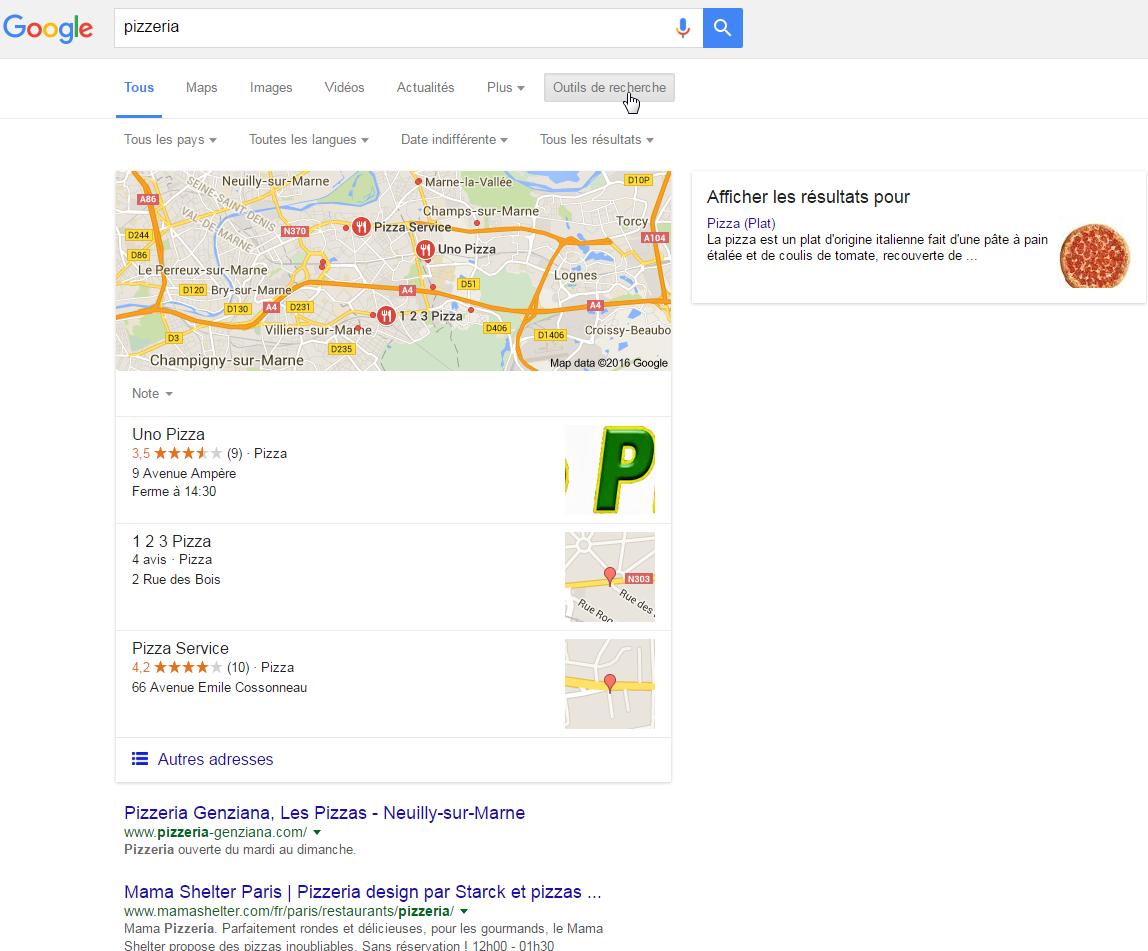 Google Venice SEO local
