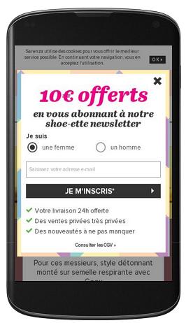 sarenza-page-mobile
