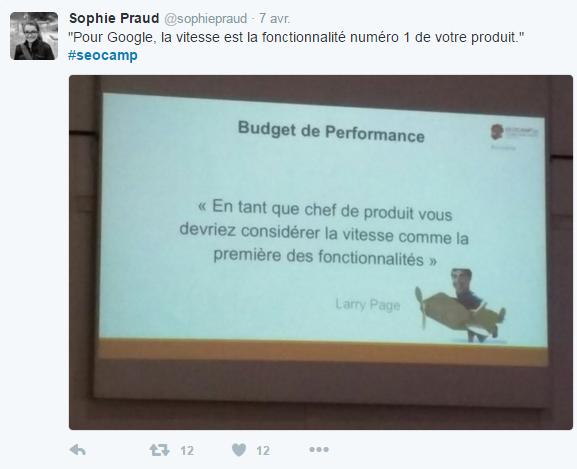 Twitter SEOCampus Sophie Praud