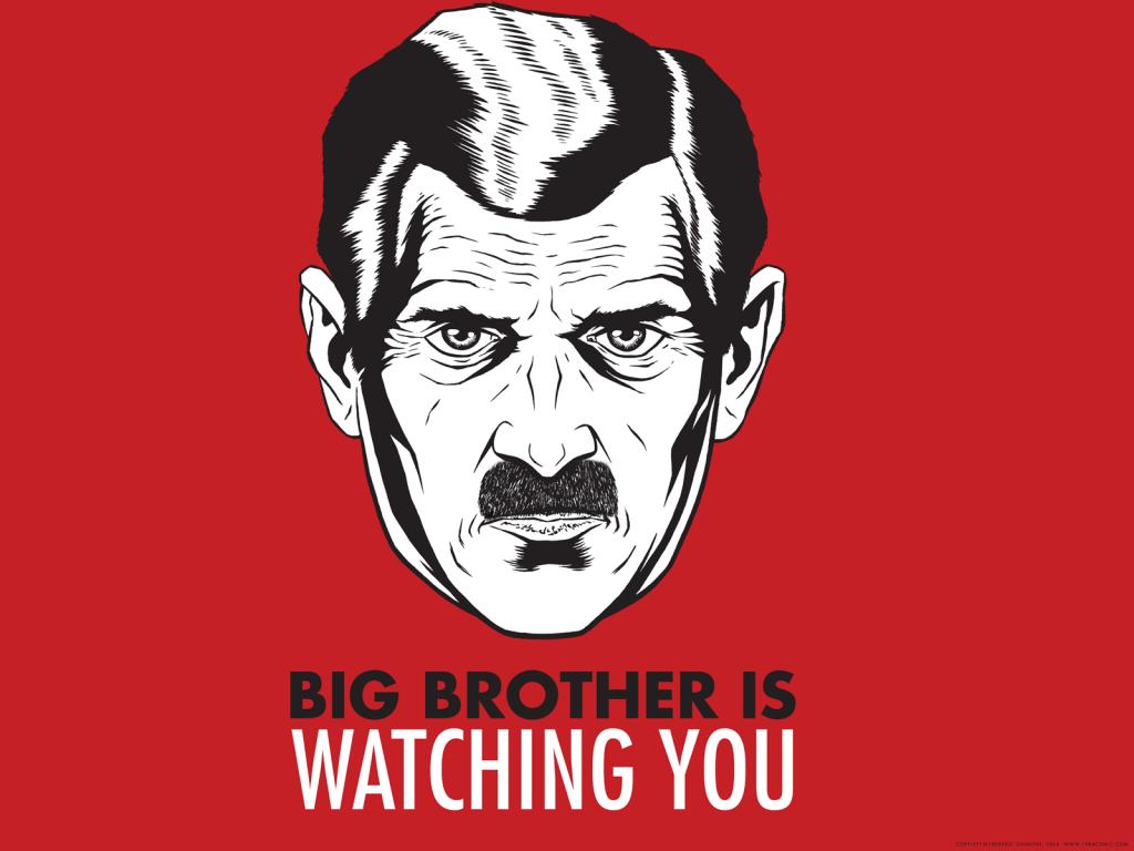 le mythe du Big Brother de George Orwell dans 1984