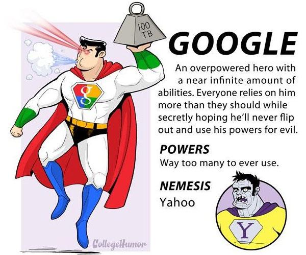 Le moteur de recherche possède énormément de pouvoirs