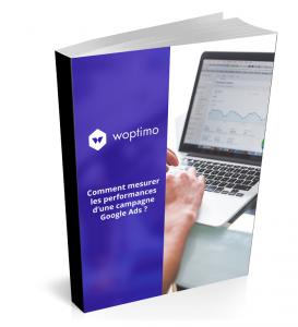 Aperçu couverture livre blanc e-commerce et Google Ads Woptimo
